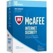 McAfee Internet Security 2017 - 10 Devices [Boxed]