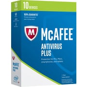 McAfee AntiVirus Plus 2017 - 10 Devices [Boxed]