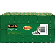 "Scotch® Magic™ Tape, 3/4"" x 1000"", 48/Pack"