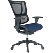 Staples Professional Series 1500TF Mesh Back Chair, Midnight