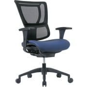 Staples Professional Series 1500TF Mesh Back Chair, Periwinkle