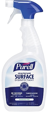 Purell® Healthcare Surface Disinfectant, 32 oz. Spray Bottle
