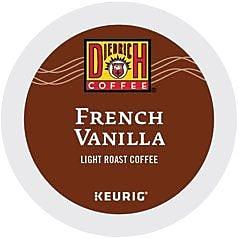 Diedrich® French Vanilla Coffee, Keurig® K-Cup® Pods, Light Roast, 24/Box (36378)