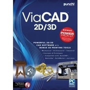 Punch! ViaCAD 2D/3D v9 +PowerPack LT (1 User) [Boxed]