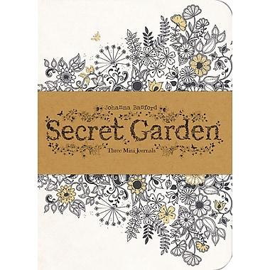 Chronicle Books, Johanna Basford, Secret Garden Mini Journals, 4.38