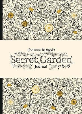 Chronicle Books, Johanna Basford, Secret Garden Hardcover Journal, 5.75