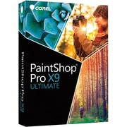 Corel PaintShop Pro X9 Ultimate Photo Editing Software for Windows 10, (1 User) [Boxed]