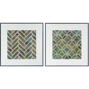 15 x 15 Symmetry Framed Art