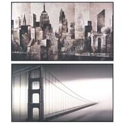 City Framed Art 15 x 26