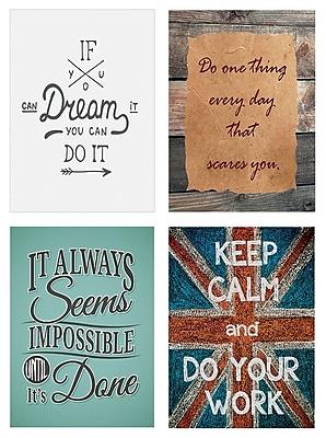 Desktop Messages 5 x 7 Art