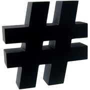 Hashtag Desk Accessory Black