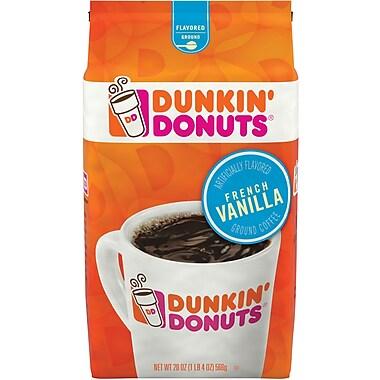 Dunkin' Donuts French Vanilla Ground Coffee, 20 Oz.