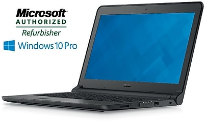 Refurbished 13.3in Dell Latitude 3350 Laptop Intel Core i3 2.0Ghz 4GB RAM 500GB Hard Drive Windows 10 Pro