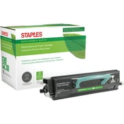 Sustainable Earth by Staples Remanufactured Black Toner Cartridge, Lexmark E250