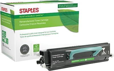 Staples® Remanufactured Black Toner Cartridge, Lexmark E250