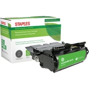 Sustainable Earth by Staples Remanufactured Black Toner Cartridge, Lexmark 64015SA, 64015HA, 64035HA, 64004HA