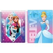 Innovative Designs LLC, Assorted Girls Theme Notebook : Frozen, Princesses, Each (9659 MX ST)
