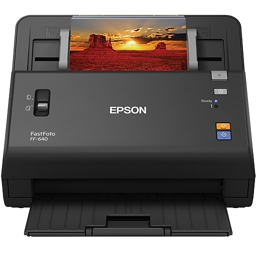 Epson fastfoto ff 640 high speed photo scanning system staples httpsstaples 3ps7is reheart Choice Image