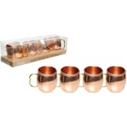 Refinery (3345013) 4-Piece Moscow Mule Shot Glass Set
