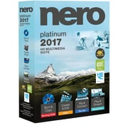 Nero 2017 Platinum (1 User) [Boxed]