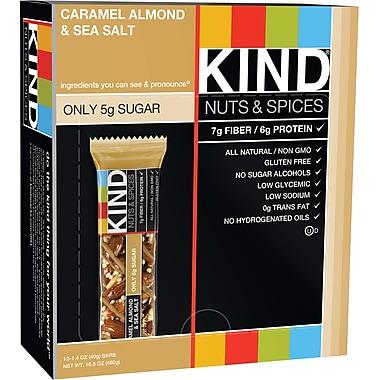 KIND Caramel Almond & Seasalt bar , 12 count
