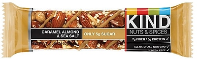 KIND® Caramel Almond & Sea Salt Bar, 12 Bars/Box (1373638)