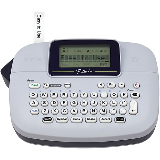 brother p touch pt m95 personal label maker staples