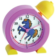 TFA Electronic Children's Bell Alarm Clock with Pony (60.1011.12)