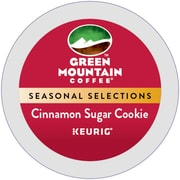 Green Mountain Cinnamon Sugar Cookie, Keurig K-Cup Pods, 24 Count