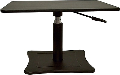 Victor Technology DC230B Height Adjustable Laptop Stand, Black