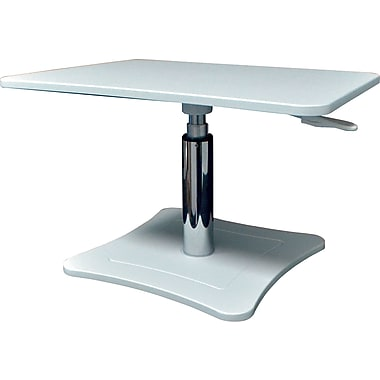 Victor® Height Adjustable Laptop Stand, White (DC230W)