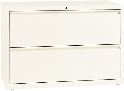 Lorell 2 Drawer Lateral File Cabinet, Cloud, Letter/Legal, 42