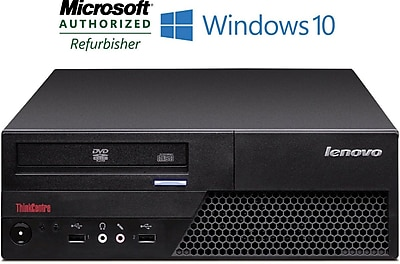 Refurbished Lenovo ThinkCentre M58 SFF Intel Core 2 Duo 3.0Ghz 6GB RAM 1TB Hard Drive Windows 10 Home