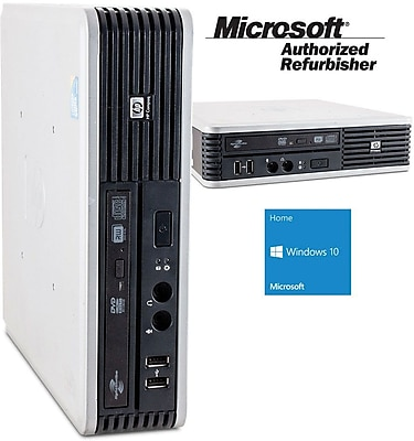 Refurbished HP DC7900 USFF Desktop Intel Core 2 Duo 3.0Ghz 4GB RAM 80GB SSD Windows 10 Home