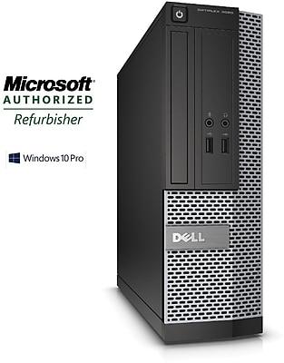 Refurbished Dell OptiPlex 3020 SFF Desktop Intel Core i3 3.4Ghz 8GB RAM 1TB Hard Drive Windows 10 Pro
