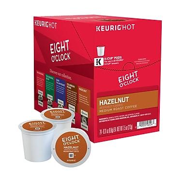 Keurig® K-Cup® Eight O'Clock® Hazelnut Coffee, Regular, 24/Pack