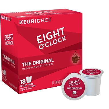Eight O'Clock® The Original, Regular Keurig® K-Cup® Pods, 18 Count