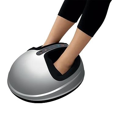 uComfy Shiatsu Foot Massager With Heat 2.0, Silver (9823)