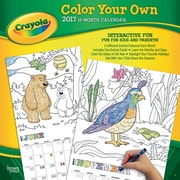 2017 Crayola Color Your Own Square 12x12