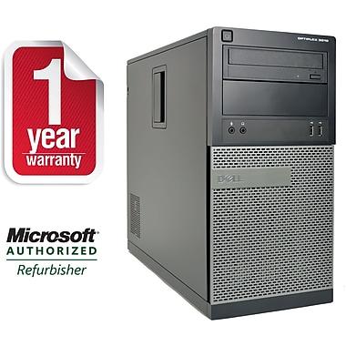 Refurbished Dell 3010-T, Desktop Core i7-2600 3.4Ghz, 8GB Ram, 500GB HDD, DVDRW, Windows 10 Professional 64bit