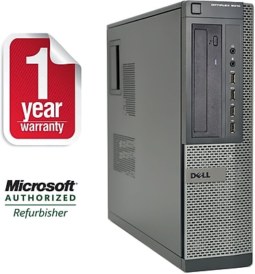 Refurbished Dell 9010 Desktop Core i5 3.2Ghz 8GB RAM 1TB HDD Windows 10 Pro