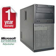 Dell 7010-T Refurbished Desktop Core i7-2600 3.4Ghz, 8GB Memory, 2TB HDD, DVDRW, Windows 10 Professional 64bit