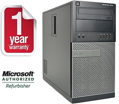 Refurbished Dell 7010-T, Desktop Core i7-2600 3.4Ghz, 8GB Ram, 2TB HDD, DVDRW, Windows 10 Professional 64bit