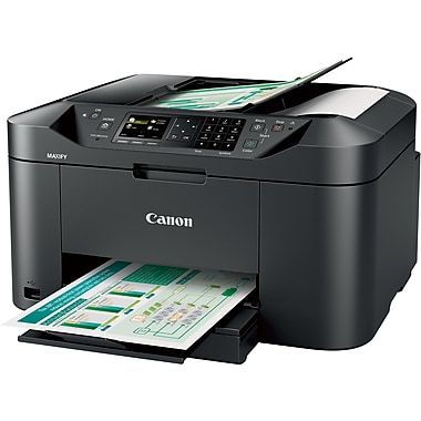Canon® MAXIFY Wireless Home Office Multifunction Color Inkjet Printer
