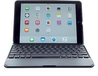 ZAGG Folio Case with Keyboard-Apple iPad Pro 9.7-Backlit-Black Case-Black KB