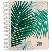 Erin Condren 12 Month Horizontal LifePlanner™, Palm Fronds-Cherry Blossom/Jade (2423296)
