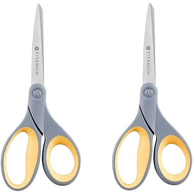 Westcott® 13901/Titanium Bonded® Scissors, Straight-Handle, 8