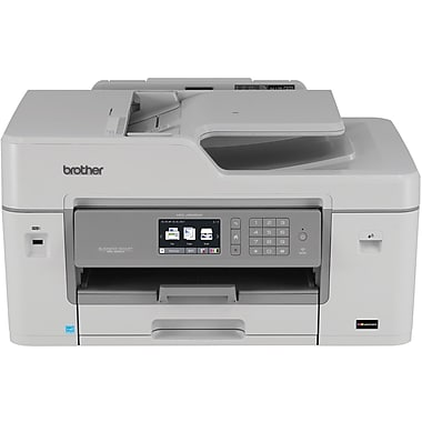 brother mfc j6535dw wireless color inkjet all in one printer with inkvestment cartridges