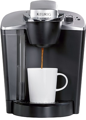 Coffee maker with grinder and water hookup