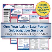ComplyRight One Year State and Federal Poster Service, California -- Bilingual Federal and English State Posters